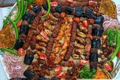 turkish kebab platter.....the best in the world.