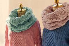 Bildergebnis für шарф снуд английской резинкой