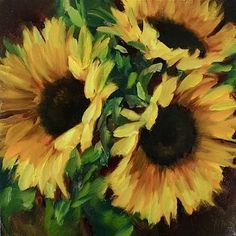 Something warm on a chilly winter day! Sunflower Sideshow www.nancymedina.com
