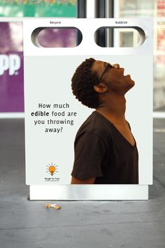 Food Waste Campaign by Yucille Sullaphen, via Behance