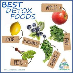 Best Detox Foods | ♥Healthy Me♥ | Pinterest