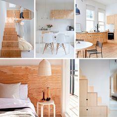 Bildresultat för hall plywood möbel