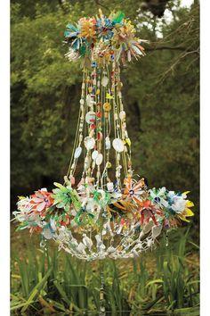 Magpie chandelier