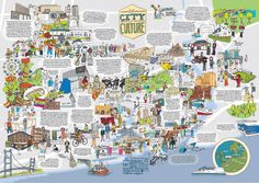 Hull city of culture map, I could look at this for hours. Hull England, England Uk, Map Of Yorkshire, Kingston Upon Hull, Places In England, World History Lessons, Hull City, London Map, Interactive Map