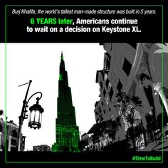 After six years of study, it's time to build Keystone XL. #timetobuild