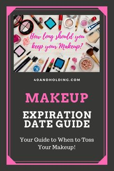 How long should you keep your mascara, blush, foundation & other makeup? Find out in our easy Makeup Expiration Guide. #beautytips #makeup