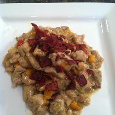 Chicken a la Bacon at Mealfit.co