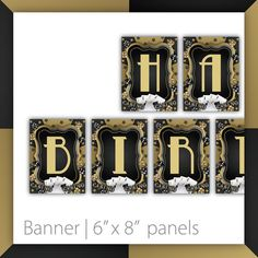 Casino Party Banner . PRINTABLE . INSTANT DOWNLOAD . Casino Wow - Gold ~ ENTIRE ALPHABET (A-Z+!) ~ $12.00 ~ Casino Banner, Casino sign, Casino Party, Casino Night,  Casino Party banner, Casino Party sign, Casino Night hanger, Casino Night banner, Poker Party Banner, poker night banner, Casino Theme Party, red and grey Casino, Casino Birthday, Casino Retirement, 30th Birthday, 40th Birthday, 50th Birthday #CasinoParty #CasinoBanner #PrintableCasino ~ https://www.etsy.com/listing/207709424