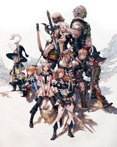 Akihiko Yoshida deja Square Enix, pero seguirá trabajando en Bravely Default #gameart #videogameart