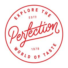 New Logo and Identity for Perfection Fresh by Interbrand – Pin's Page Logo And Identity, Brand Identity Design, Logo Branding, Branding Design, Coffee Branding, Logo Pizzeria, Logo Restaurant, Food Typography, Typography Letters