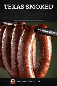Hot Link Sausage Recipe, Summer Sausage Recipes, Smoked Sausage Recipes, Homemade Sausage Recipes, Best Beef Recipes, Meat Recipes, Texas Sausage Recipe, Home Made Sausage, Sausage Making