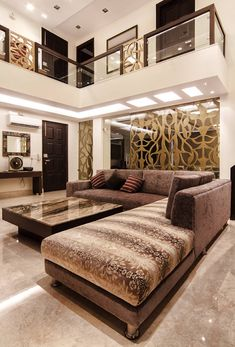 Pandhi's residence: classic by hands on design,classic | homify Small House Interior Design, Modern Exterior House Designs, Home Stairs Design, Home Building Design, Dream House Interior, Bungalow House Design, Home Room Design, Living Room Partition Design, Ceiling Design Living Room