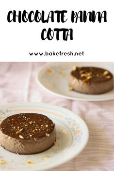EASY AND DELICIOUS CHOCOLATE PANNA COTTA