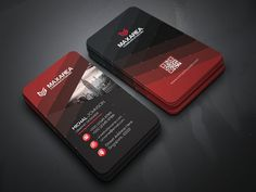 Blakish Business Card Templates **Features of Business Card Template :**- x with bleed settings)- 04 Color Ver by Create Art Business Cards Layout, Minimal Business Card, Blank Business Cards, Free Business Card Templates, Business Card Design, Identity Card Design, Id Design, Graphic Design, Creative Cards