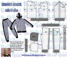 DIY Fashion Ideas – What you Need to be Creative – Designer Fashion Tips Sewing Coat, Sewing Pants, Sewing Clothes, Diy Clothes, Baby Dress Patterns, Baby Clothes Patterns, Clothing Patterns, Hoodie Pattern, Jacket Pattern