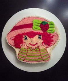 Strawberry Shortcake birthday cake!