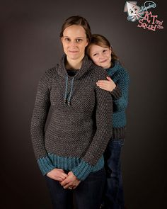 Make this comfy crochet pullover with Lion Brand Heartland! Get the pattern on Ravelry by KT and the Squid, both Child and Adult sizes available!