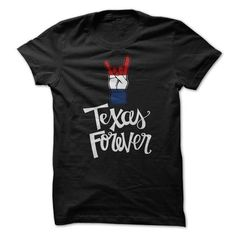 Texas Forever T Shirts, Hoodies, Sweatshirts. GET ONE ==> https://www.sunfrog.com/States/Texas-Forever-72117911-Guys.html?41382