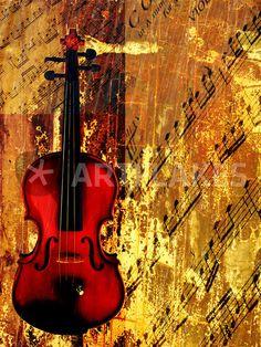 Violin, by Jean-Francois Dupuis