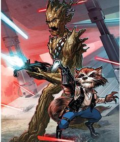 Rocket and Groot! Guardians of the Galaxy