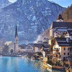 Hallstatt, Austria #TourThePlanet Photography by @brianthio
