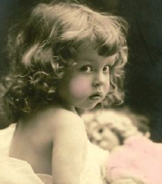 Little Lady with Dolly