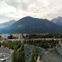 Wer hat Höhenangst? Der Lienzer Hauptplatz mal anders im 360 Fotoview... Sonnenstadt Lienz Osttirol - Dein BergTirol Osttirol DANKE an die Feuerwehr Lienz #brunnerimages