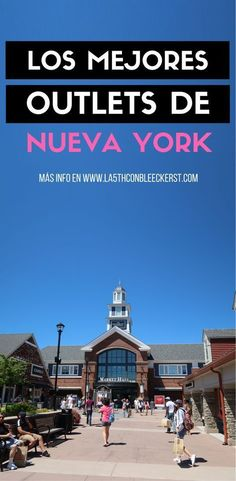 Outlets en Nueva York, cómo llegar y qué comprar [LISTA] The best outlets in New York to go shopping and save. New York City Travel, New Travel, Travel Usa, Travel Tips, Travel Hacks, Market Hall, Places Around The World, Around The Worlds, Shopping
