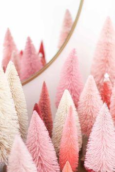 Pink Christmas Tree, Christmas Room, Noel Christmas, Vintage Christmas, Blush Pink Christmas Decorations, Pink Decorations, Amazon Christmas, Whimsical Christmas, Black Christmas