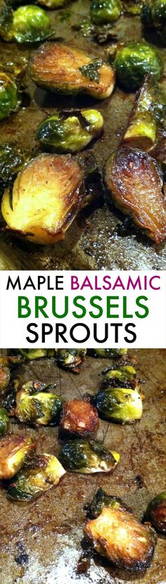 Maple Balsamic Bruss