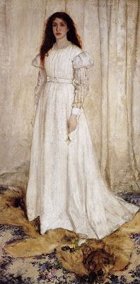 James A. McNeill Whistler, Symphony in White No.1: The girl in white, 1862