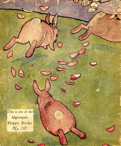 ChildrensbookOnline: About Bunnies / bunnies16 by Gladys Nelson Muter; illustrated by F. Y. Cory; published by Algonquin Publishing Company 1924