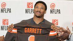 2017 NFL draft -- Cleveland Browns select Myles Garrett at No. 1