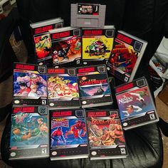 Interesting one by metalslugger #retrogames #microhobbit (o) http://ift.tt/1Q6cT6G of what's left .. #snes #supernintendo #retrocollective #nintendo #forsale  GAMES IN CASES