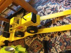 Tonka Trucks, Tonka Toys, Nerf, Tractors, Play, Steel, Steel Grades, Iron