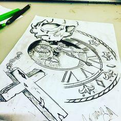 My world #tattoo #tatouage #draw #sketch #sketching  #ink #inked #inklife #instagood #instalike #instatattoo #instadraw #inkedgirl #inkedboy #boy #girl #girltattoo #boytattoo #lille #france #followme #mandala #mandalaart #mandalatattoo #rose #rosetattoo #ideatattoo #smalltattoo #skull #cruz #ilovedraw