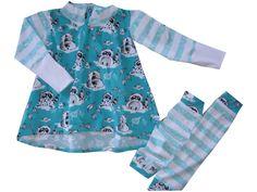 Bio Mädchen Zipfelshirt + Stulpen Gr. 110 - 116 von me Kinderkleidung und ersatzbezuege auf DaWanda.com