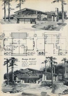 1969 multi-level house