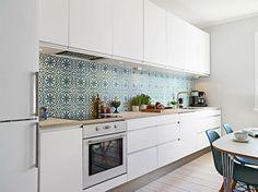 diseño de cocinas con azulejos