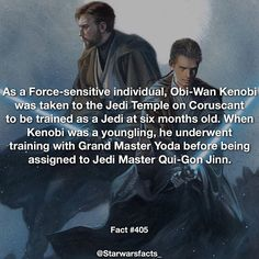 Ewan McGregor's Obi-Wan Kenobi is probably my favorite Star Wars movie character. #starwarsfacts