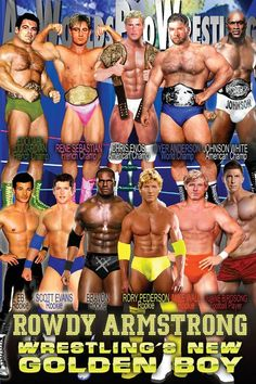 Pro Wrestling Novel - Rowdy Armstrong