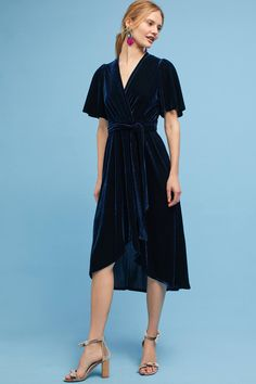 Shop the Velvet Wrap Midi Dress and more Anthropologie at Anthropologie today. Read customer reviews, discover product details and more.