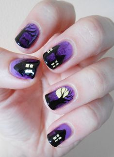 If only I was this artistic - halloween #nail #nails #nailart