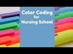 How to Stay Organized in Nursing School (Color Coding) Nursing Schools In Nyc, Nursing Career, Nurse Consultant Jobs, Nurse Practitioner Programs, Nursing School Prerequisites, Accelerated Nursing Programs, New Nurse, Pediatric Nursing, School Colors
