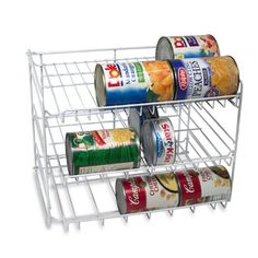 Organize your canned foods. #pantry #storage