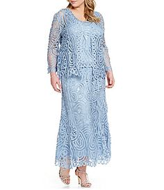 Soulmates 3Piece Embroidered Dress #Dillards.  in darker blue