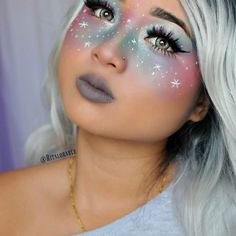 Fasching schminken fee Super creative makeup looks that Makeup Fx, Artist Makeup, Clown Makeup, Cute Makeup, Costume Makeup, Insta Makeup, Beauty Makeup, Witch Makeup, Makeup Artists