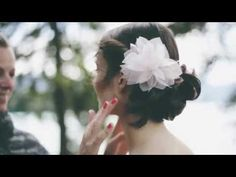 BelleJulie Brauthaarschmuck behind the scenes - YouTube