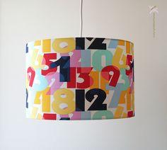 Lampe Kinderzimmer Babyzimmer mit Zahlen
