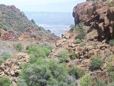 Above Jerome Az looking across valley to Sedona